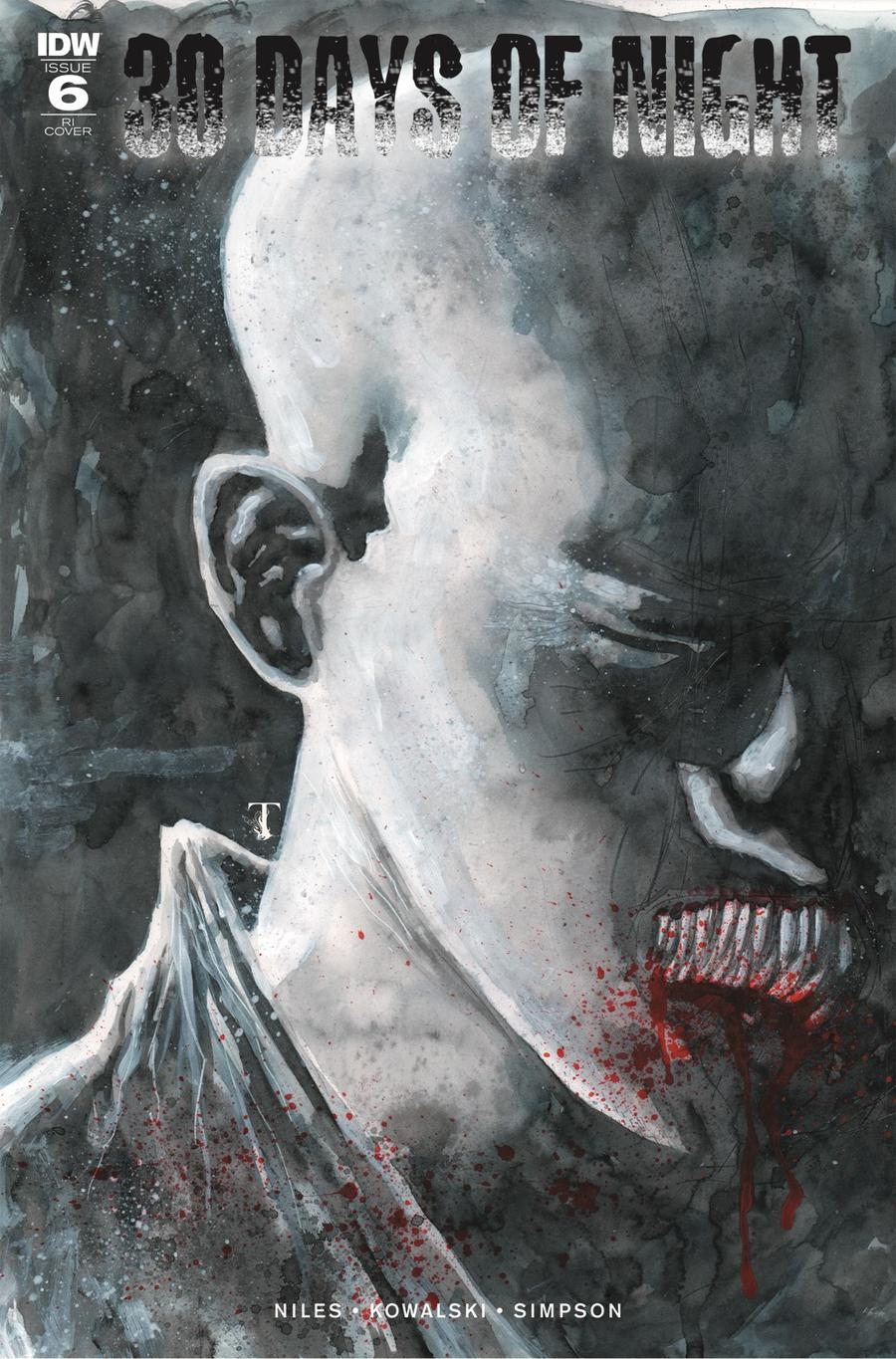 30 Days Of Night Vol 3 #6 Cover C Incentive Ben Templesmith Variant Cover