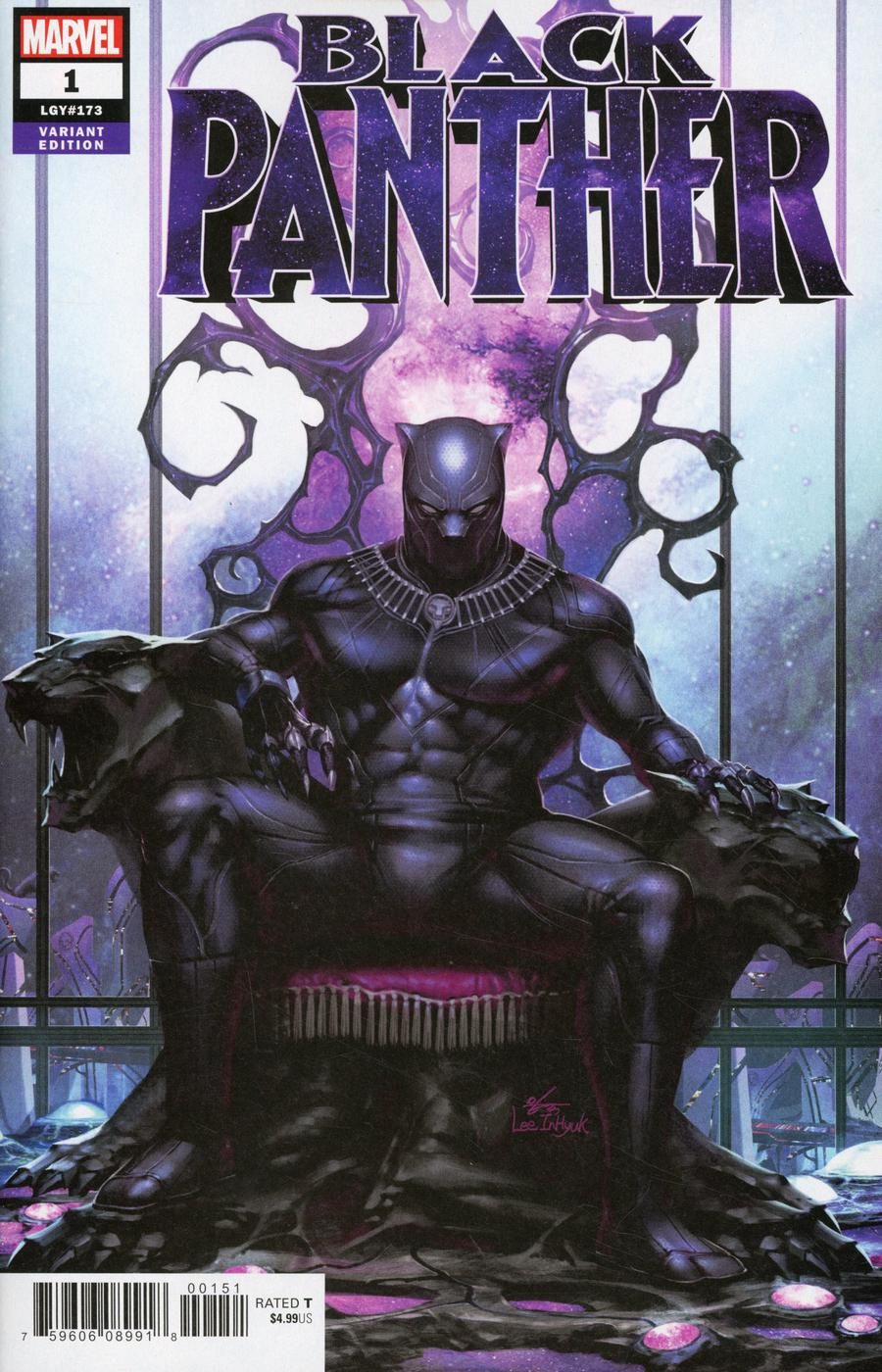 Black Panther Vol 7 #1 Cover H Incentive In-Hyuk Lee Variant Cover