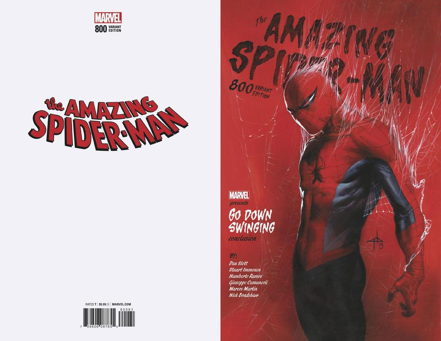 Amazing Spider-Man Vol 4 #800 Cover N Incentive Gabriele Dell Otto Variant Cover