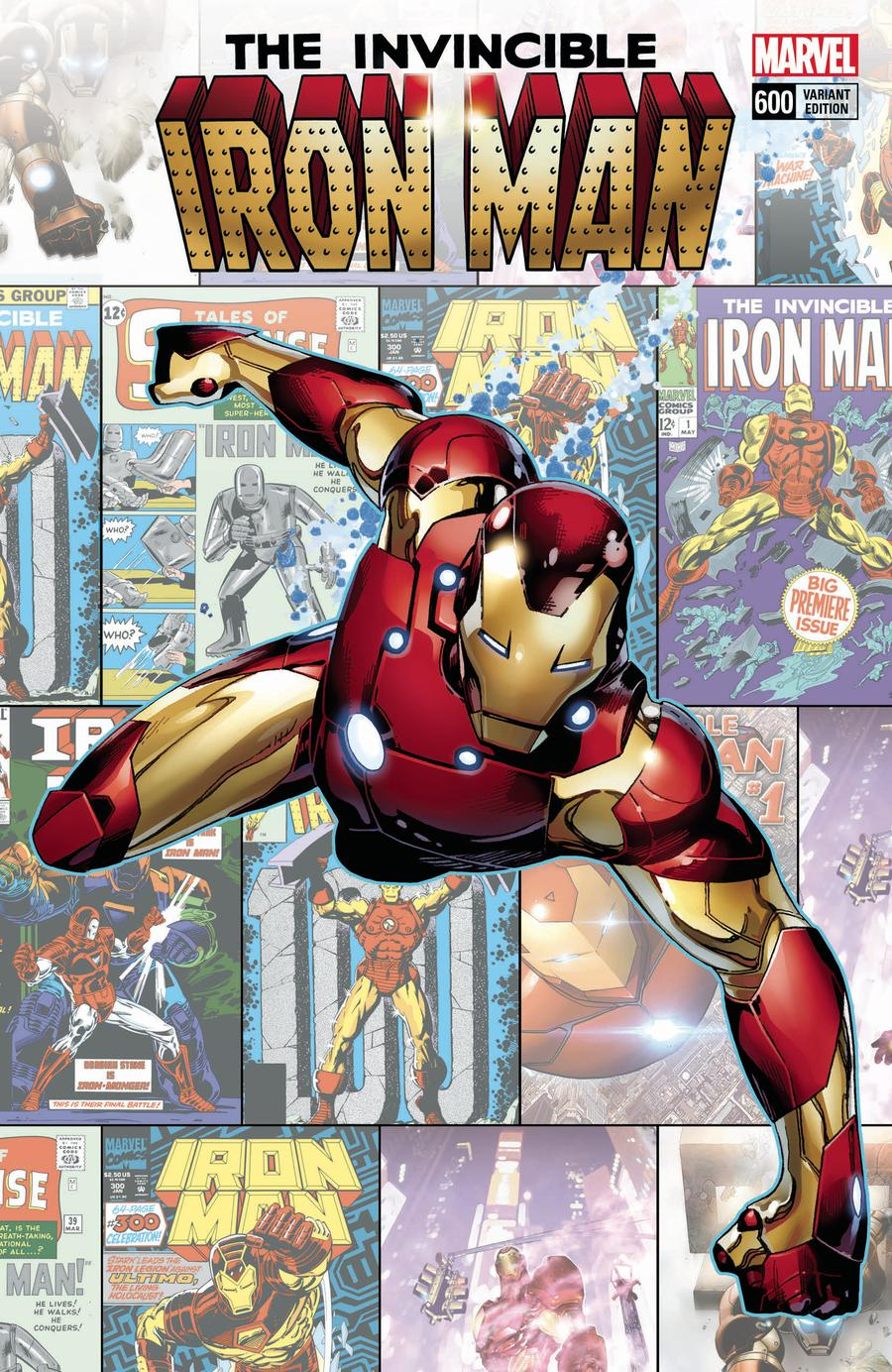 Invincible Iron Man Vol 3 #600 Cover C Incentive Olivier Coipel Variant Cover