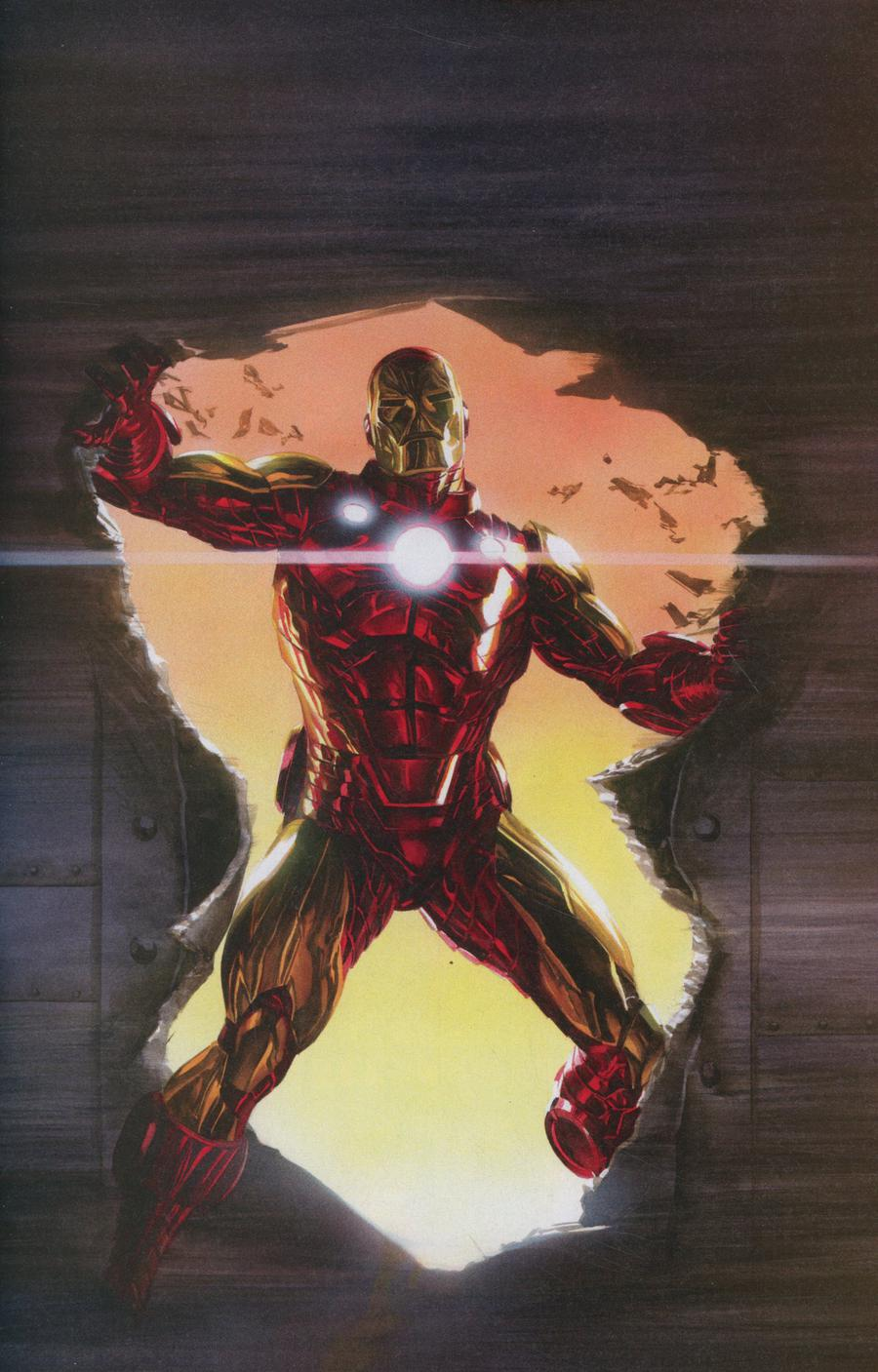 Invincible Iron Man Vol 3 #600 Cover E Incentive Alex Ross Virgin Cover