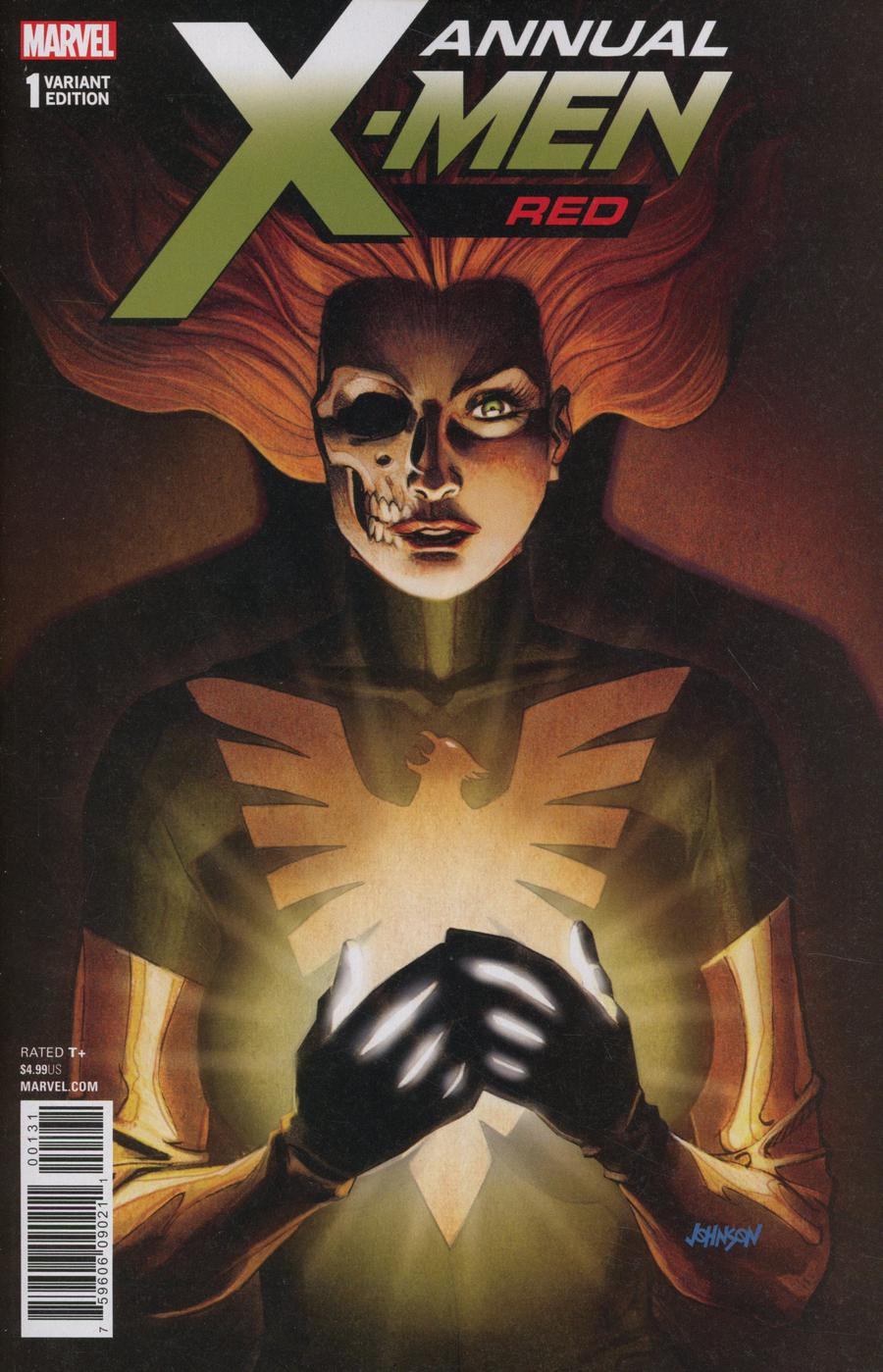 X-Men Red Annual #1 Cover C Incentive Dave Johnson Variant Cover