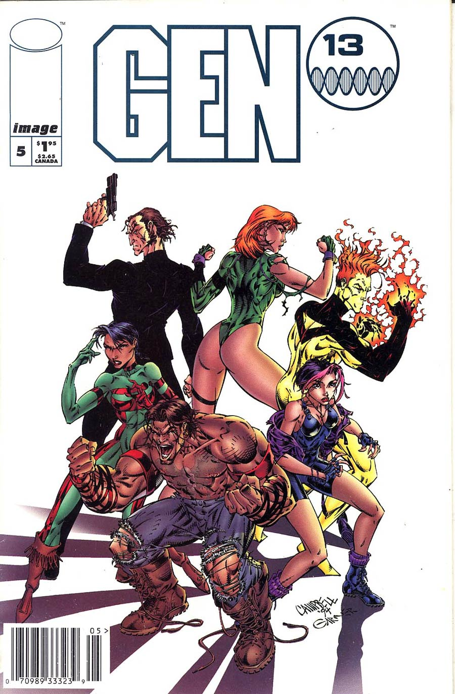Gen 13 #5 Cover C Newsstand Edition