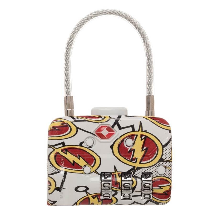 DC Comics TSA Combination Cable Lock - Flash