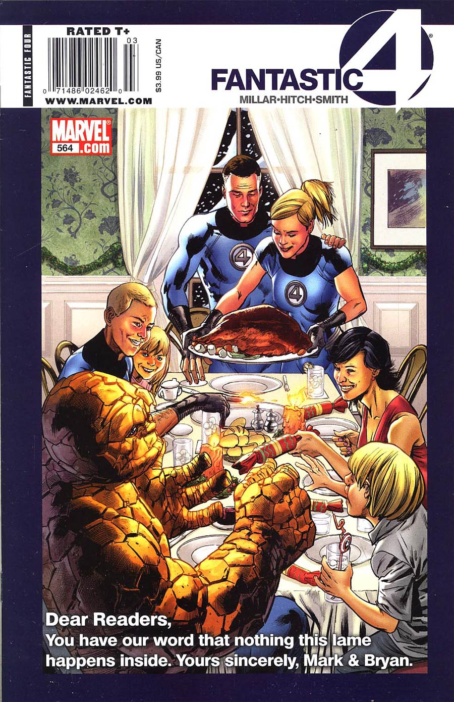 Fantastic Four Vol 3 #564 Cover B Newsstand Edtion