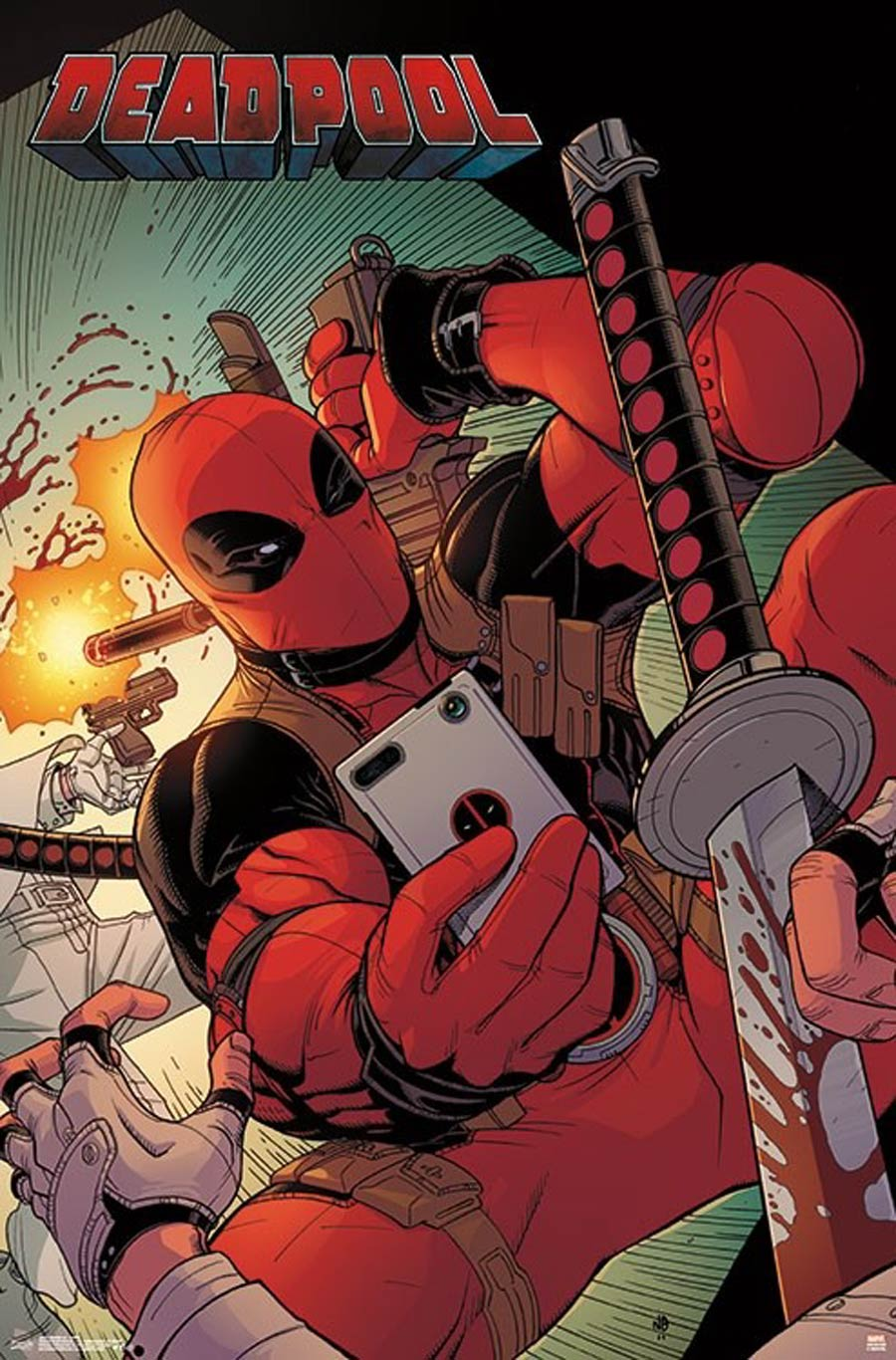 Deadpool Selfie Poster