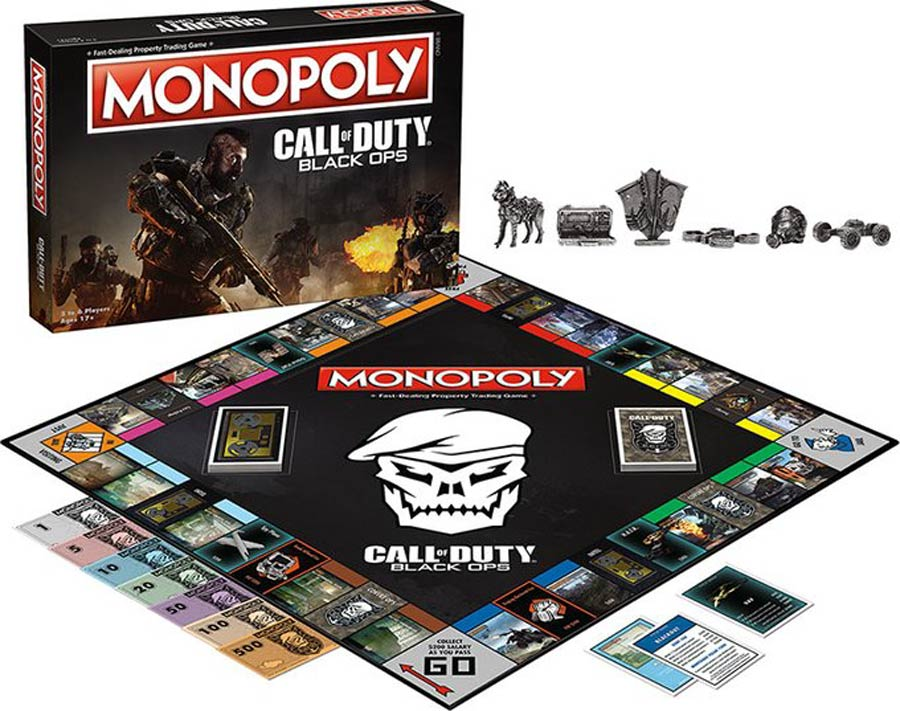 Monopoly Call Of Duty Collectors Edition