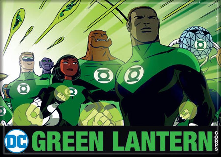 DC Comics 2.5x3.5-inch Magnet - Darwyn Cooke Green Lantern Corp (72187DC)