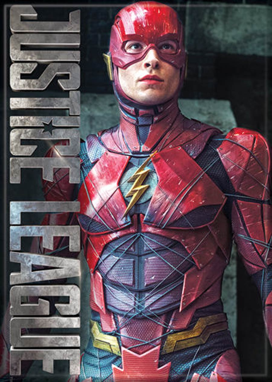 DC Comics 2.5x3.5-inch Magnet - Justice League Movie The Flash Standing (72665DC)