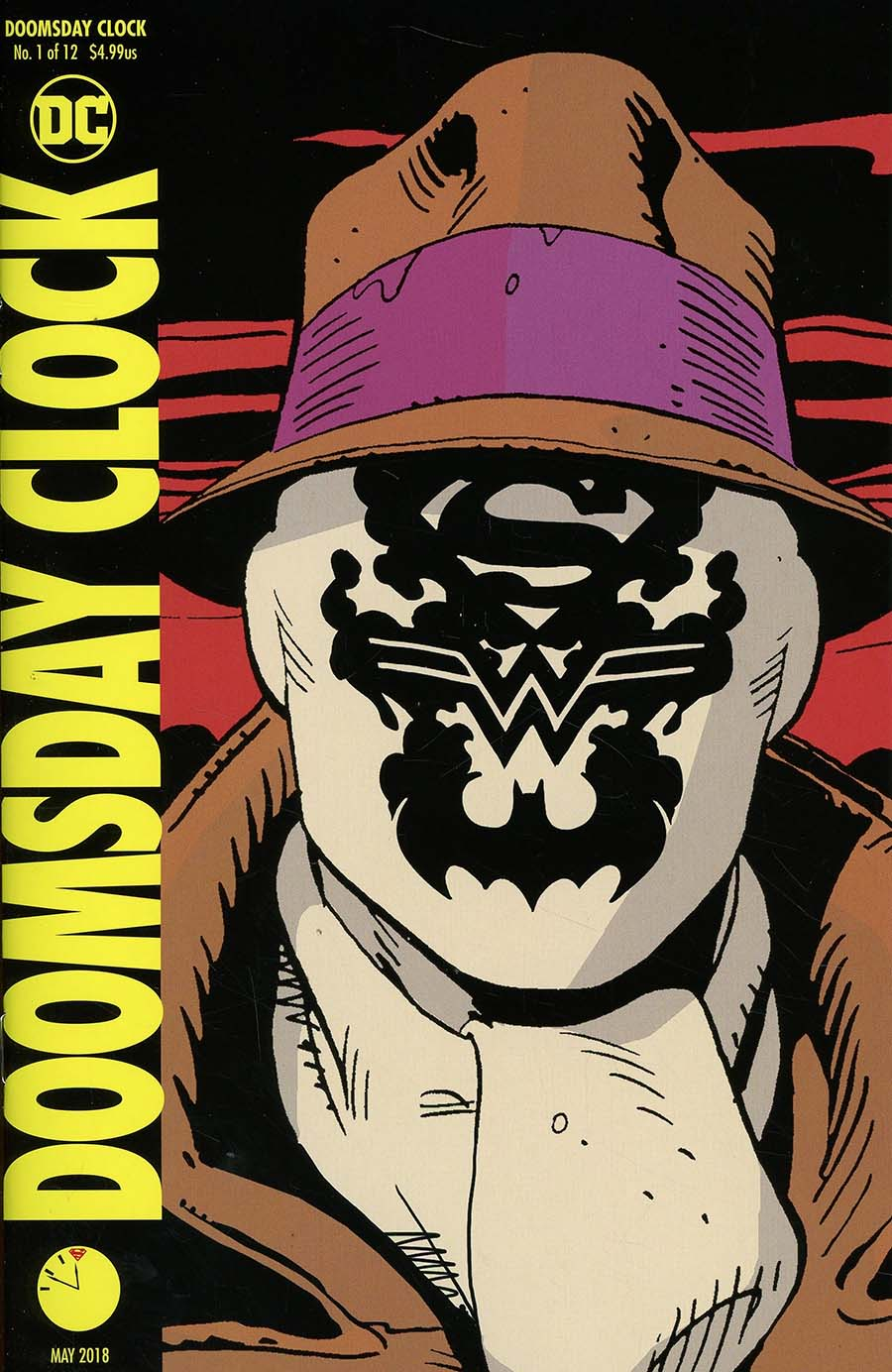 Doomsday Clock #1 Cover I 3rd Ptg Variant Gary Frank Cover