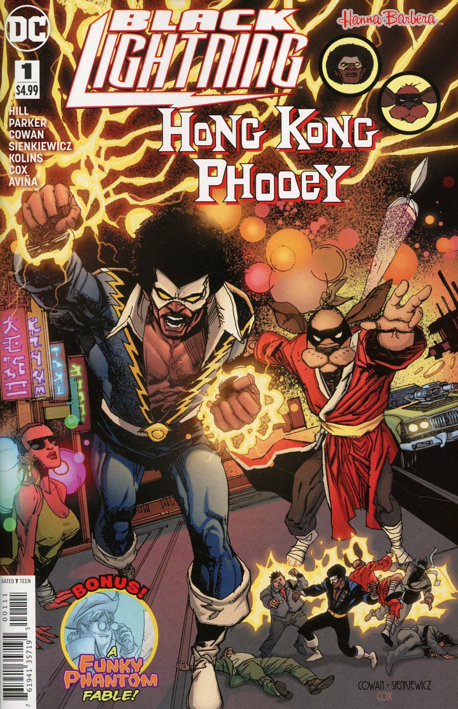 Black Lightning Hong Kong Phooey Special #1 Cover A Regular Denys Cowan & Bill Sienkiewicz Cover