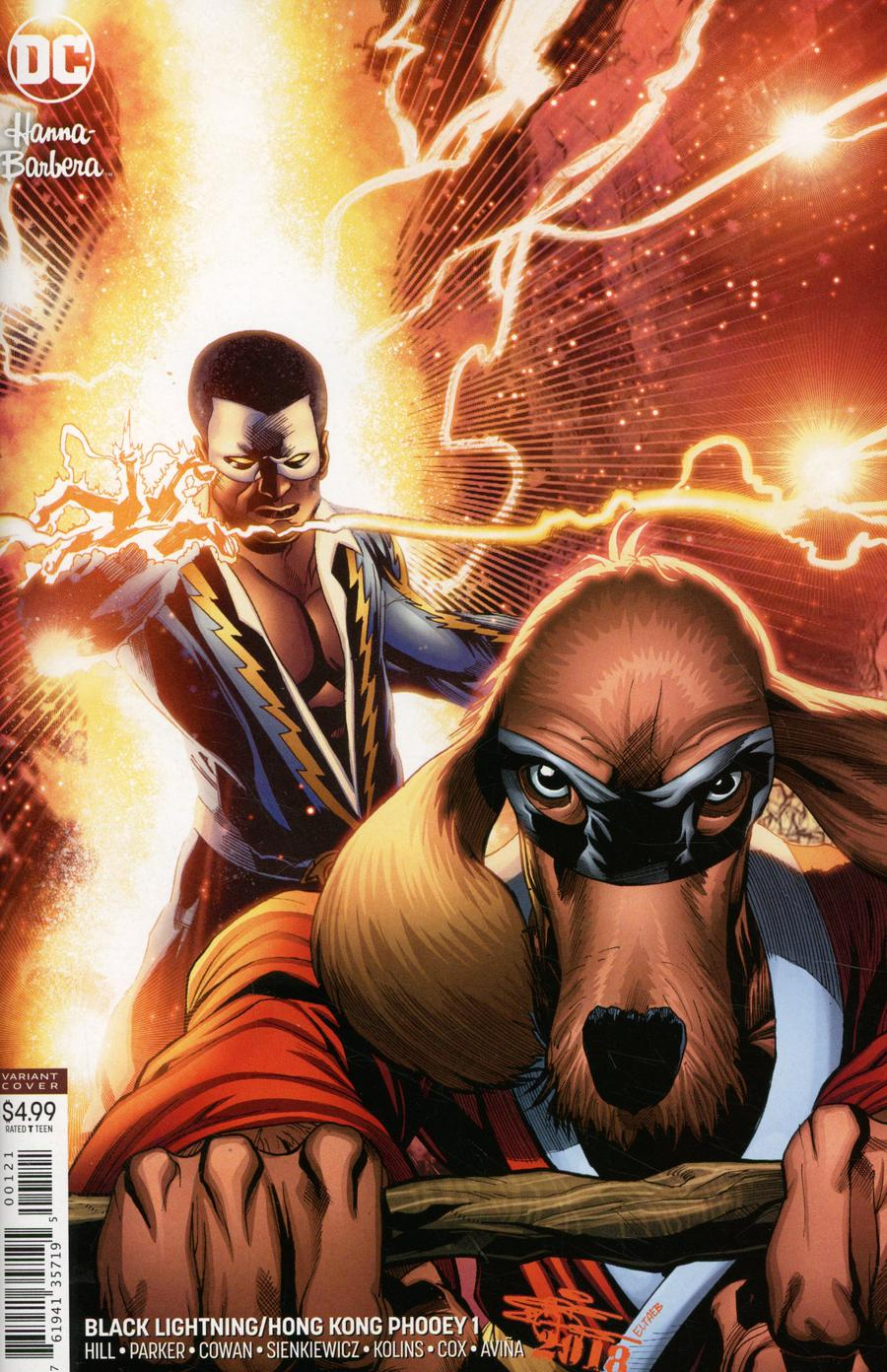 Black Lightning Hong Kong Phooey Special #1 Cover B Variant ChrisCross Cover