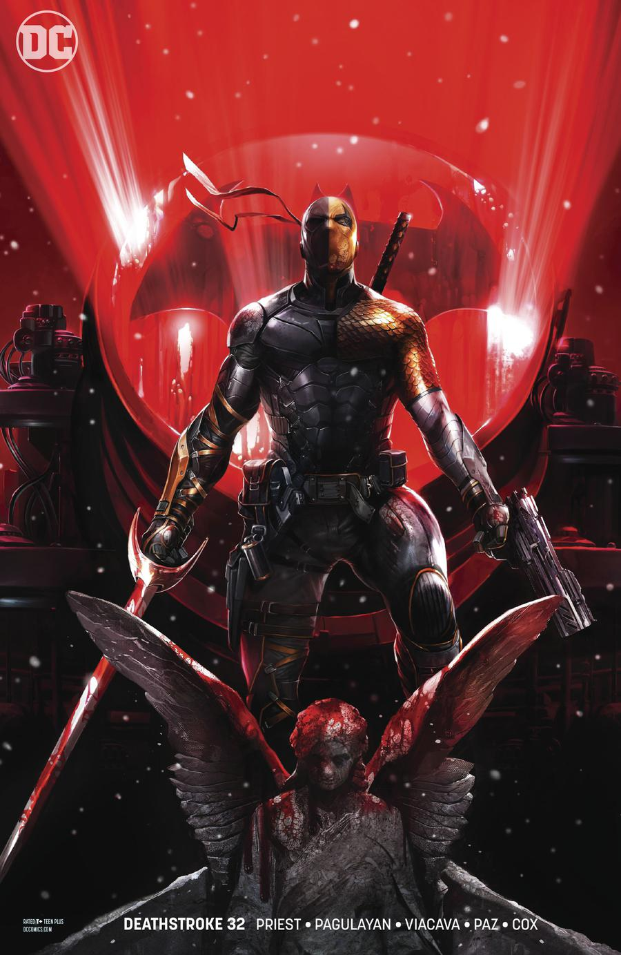 Deathstroke Vol 4 #32 Cover B Variant Francesco Mattina Cover