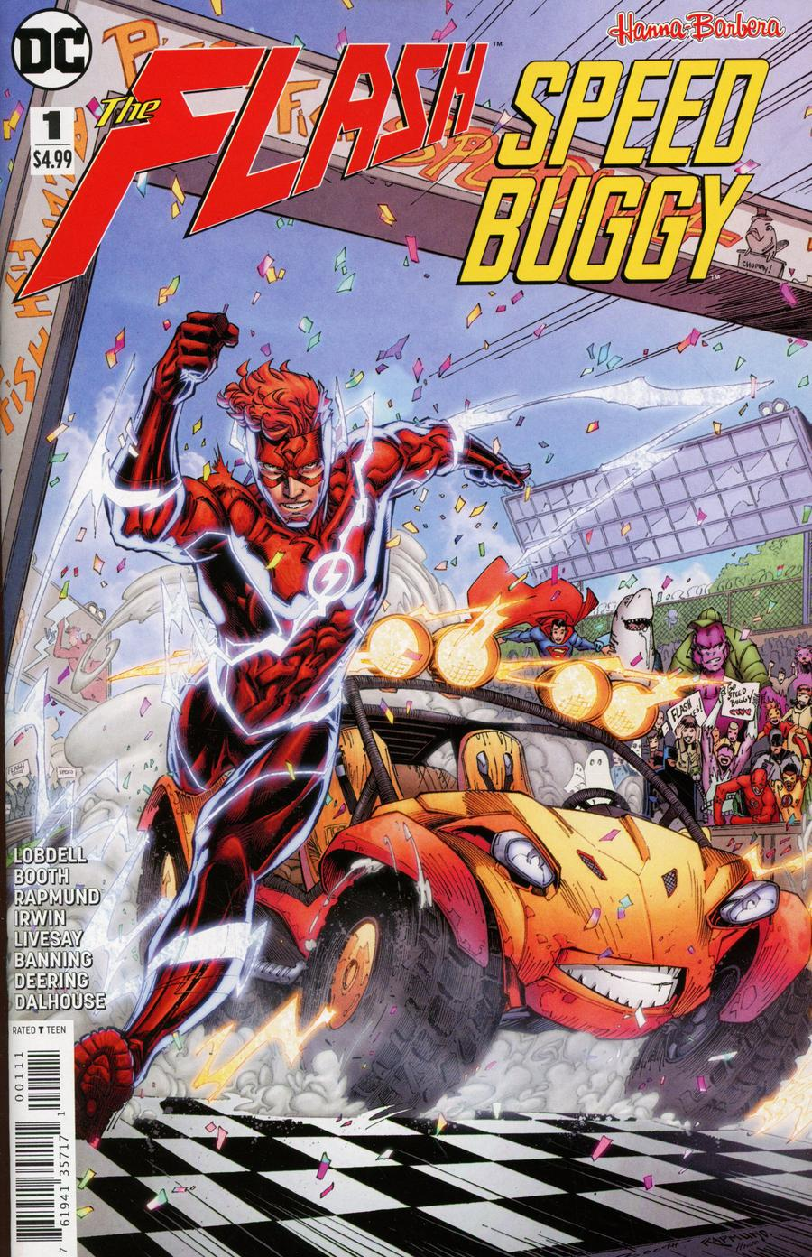 Flash Speed Buggy Special #1 Cover A Regular Brett Booth & Norm Rapmund Cover