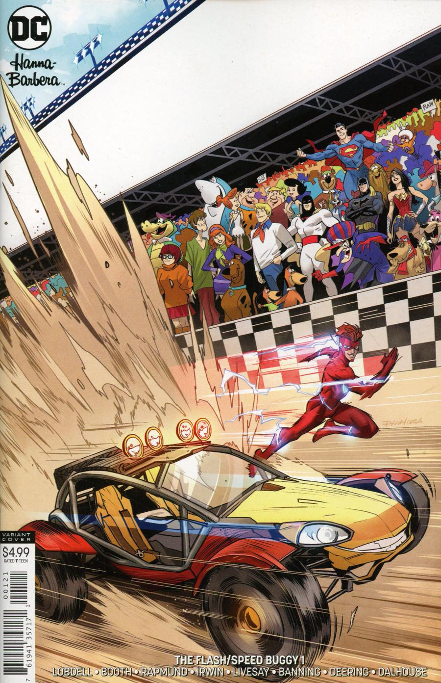 Flash Speed Buggy Special #1 Cover B Variant Dan Mora Cover