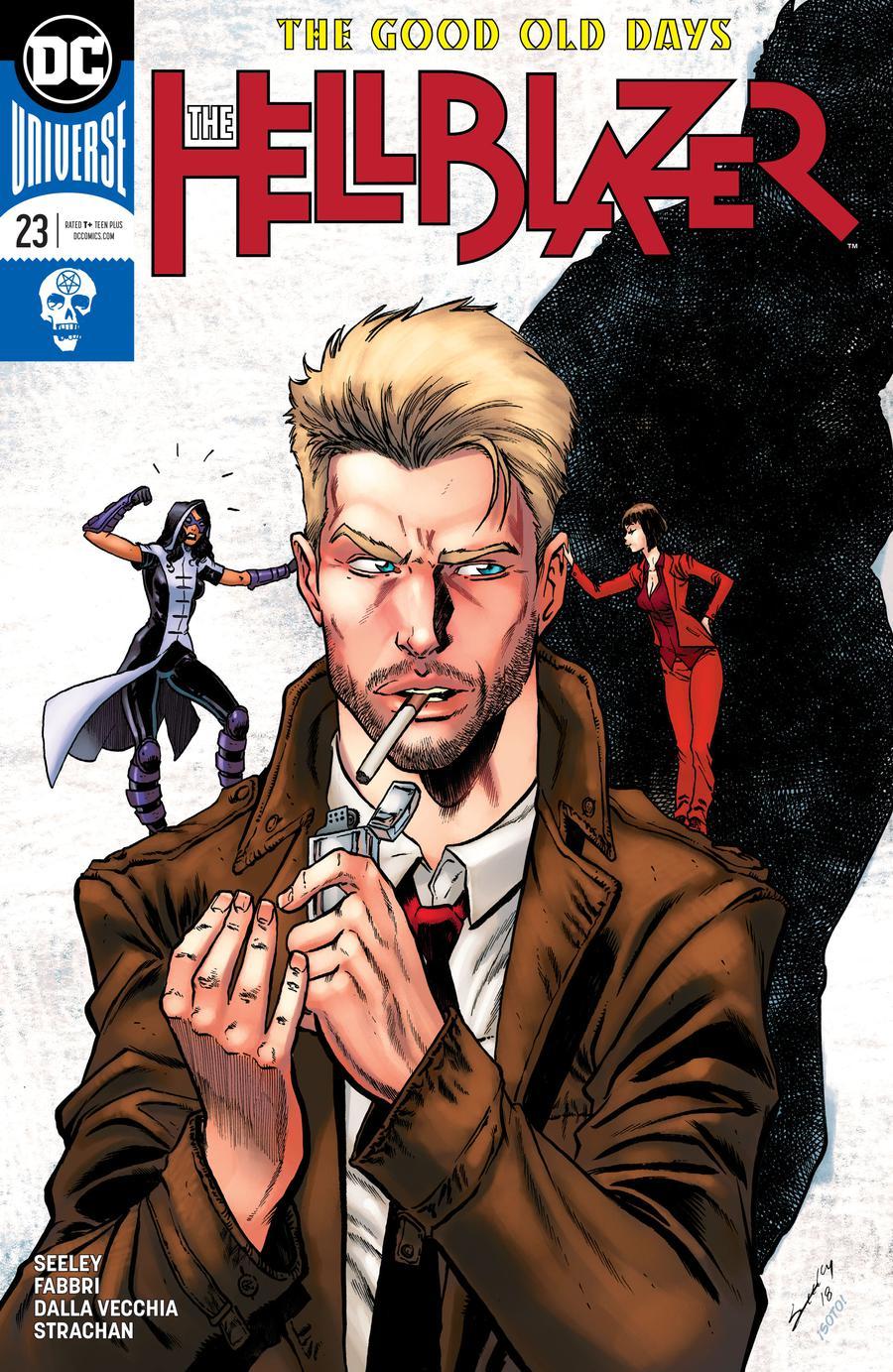 Hellblazer Vol 2 #23 Cover A Regular Tim Seeley Cover
