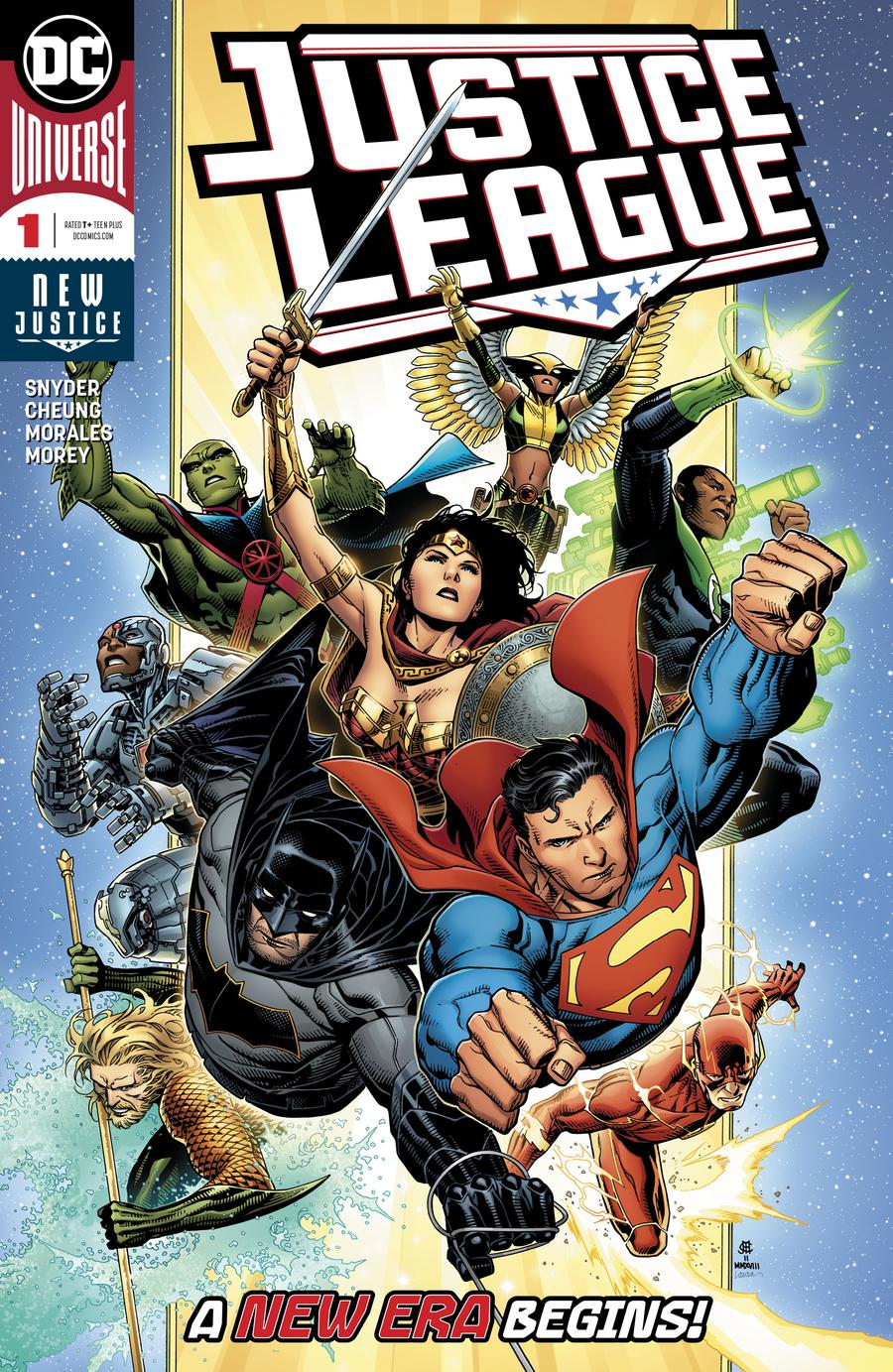 Justice League Vol 4 #1 Cover A Regular Jim Cheung Cover