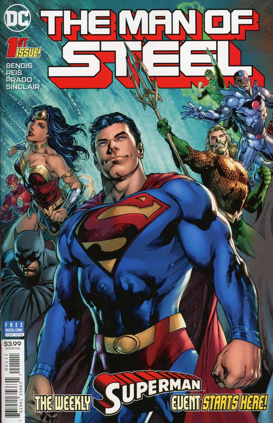 Man Of Steel Vol 2 #1 Cover A Regular Ivan Reis & Joe Prado Cover