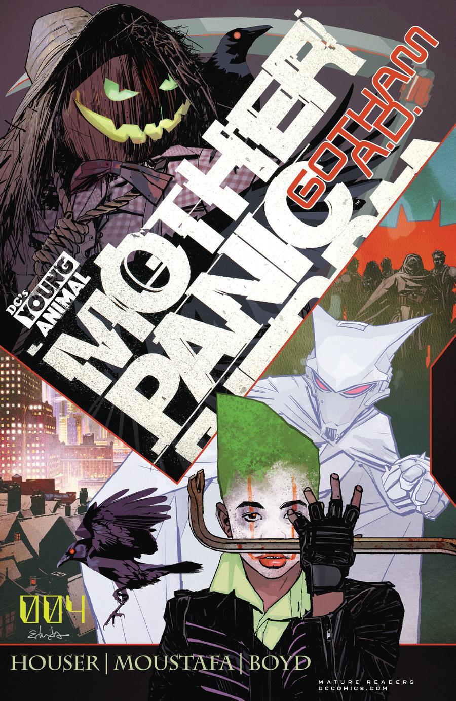 Mother Panic Gotham A.D. #4