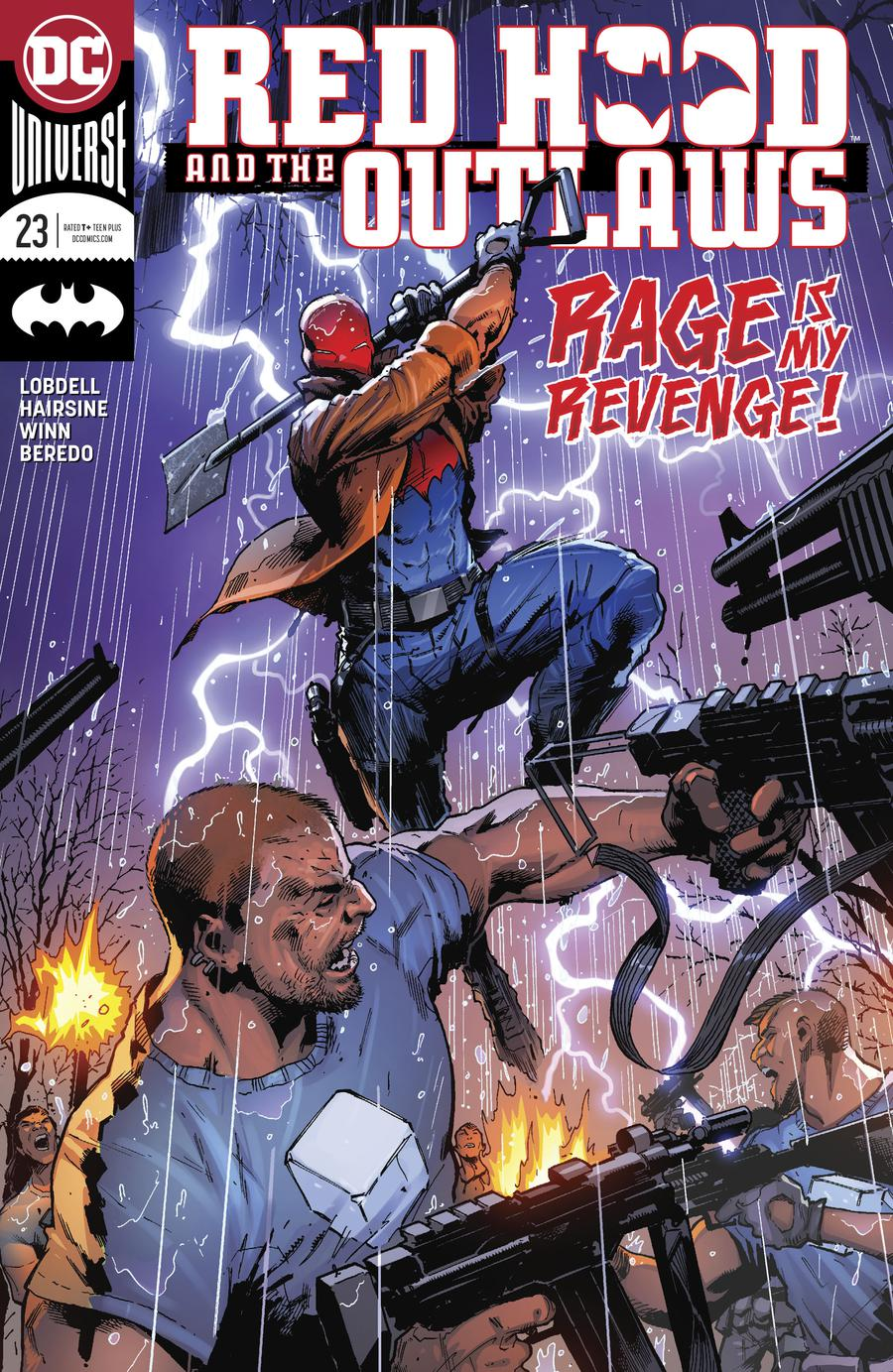 Red Hood And The Outlaws Vol 2 #23 Cover A Regular Trevor Hairsine Cover
