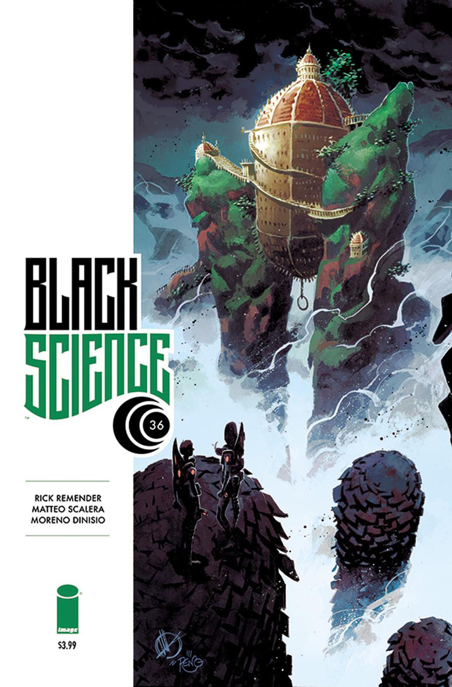 Black Science #36 Cover A Regular Matteo Scalera & Moreno Dinisio Cover