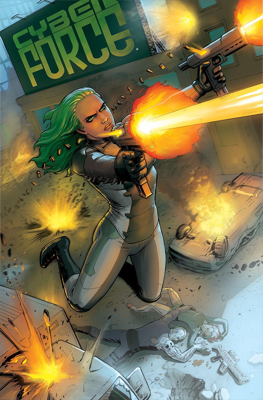 Cyberforce Vol 5 #4