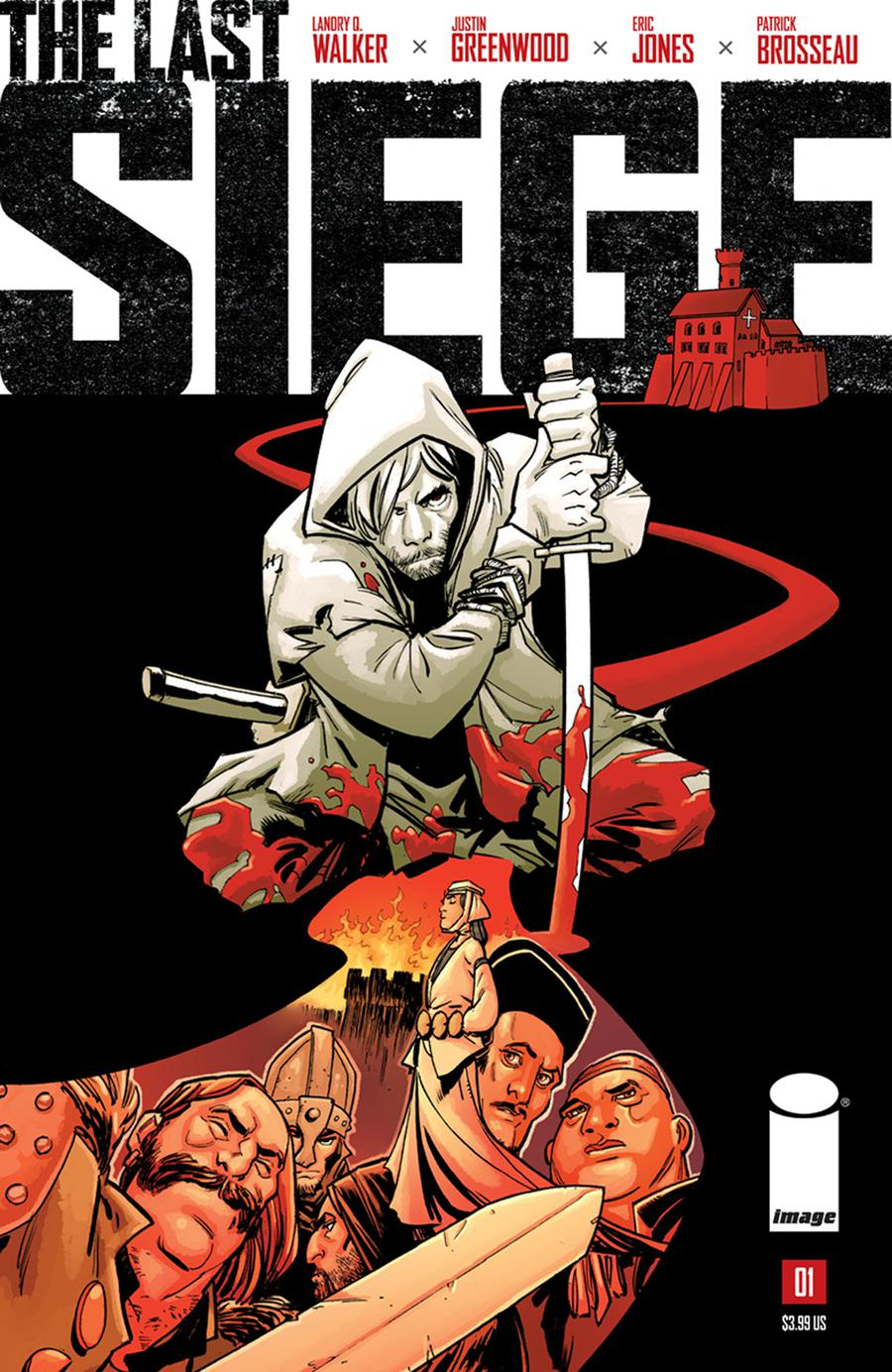 Last Siege #1 Cover A Regular Justin Greenwood Cover