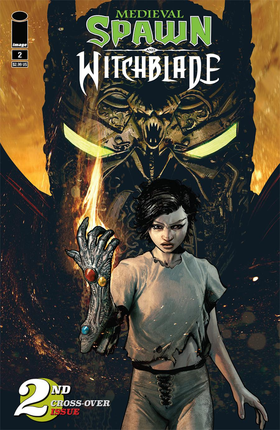 Medieval Spawn Witchblade Vol 2 #2 Cover A Regular Brian Haberlin Cover