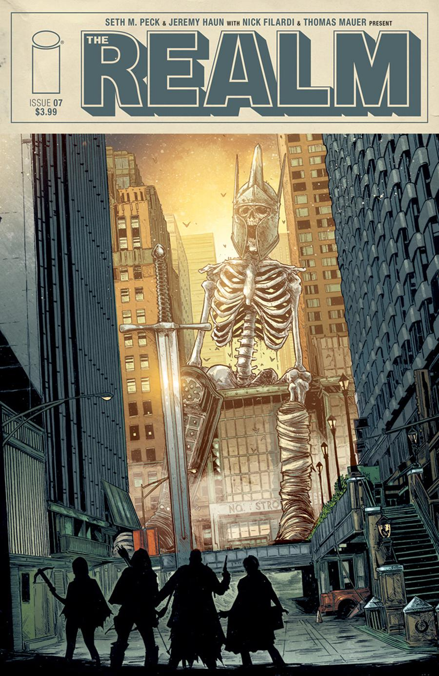 Realm #7 Cover A Regular Jeremy Haun & Nick Filardi Cover