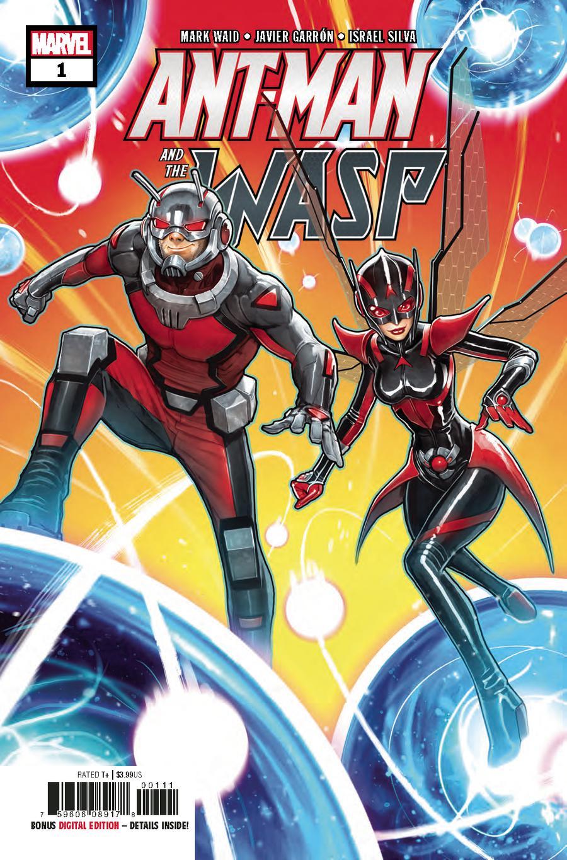 Ant-Man And The Wasp #1 Cover A Regular David Nakayama Cover