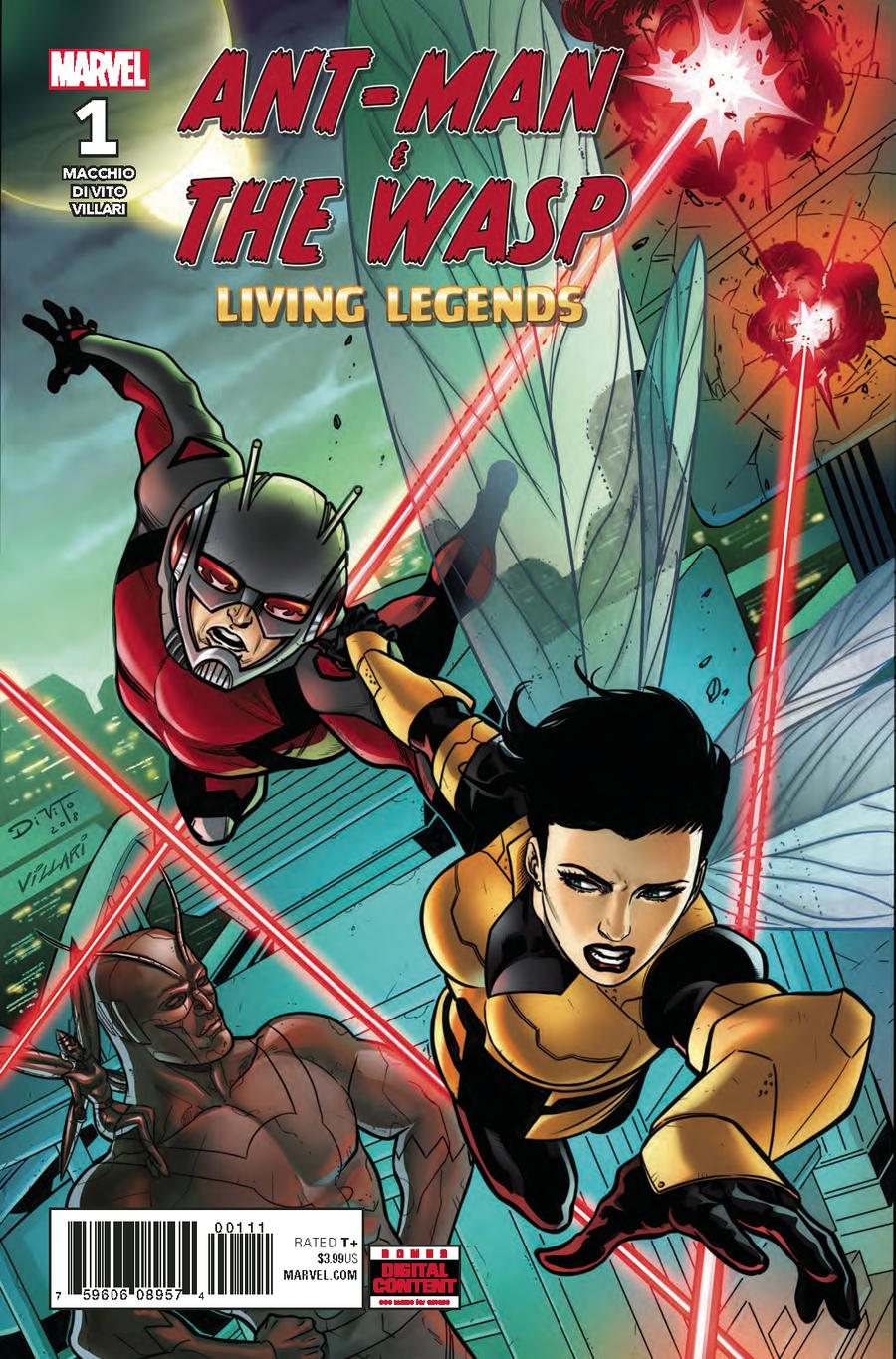 Ant-Man And The Wasp Living Legends #1 Cover A Regular Andrea Di Vito Cover