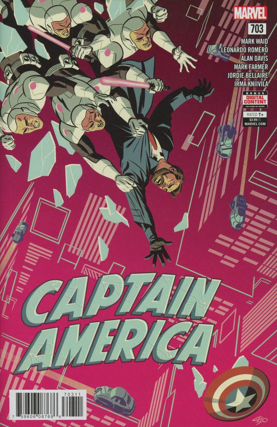 Captain America Vol 8 #703 Cover A Regular Michael Cho Cover