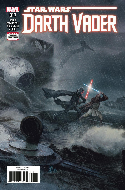 Darth Vader Vol 2 #17 Cover A Regular Giuseppe Camuncoli & Elia Bonetti Cover