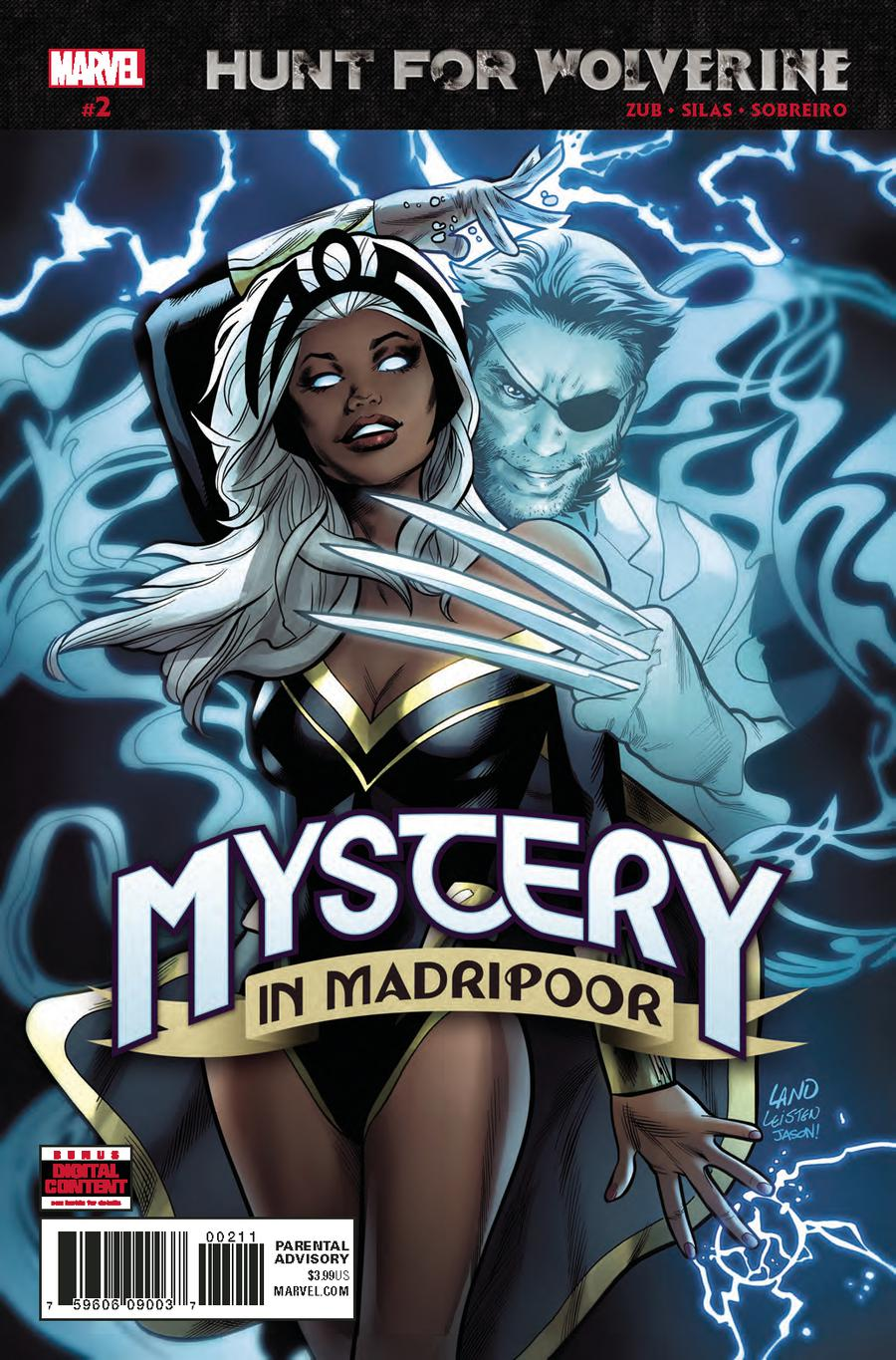 Hunt For Wolverine Mystery In Madripoor #2 Cover A Regular Greg Land Cover