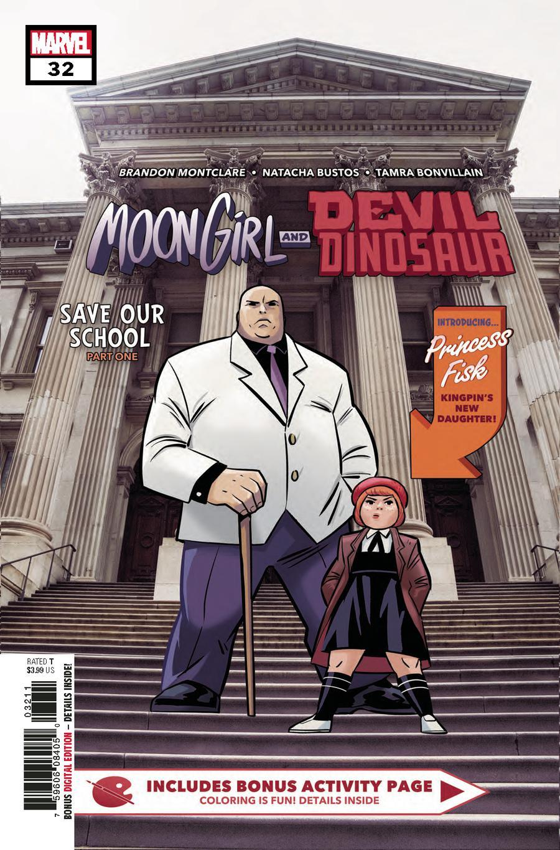 Moon Girl And Devil Dinosaur #32 Cover A 1st Ptg