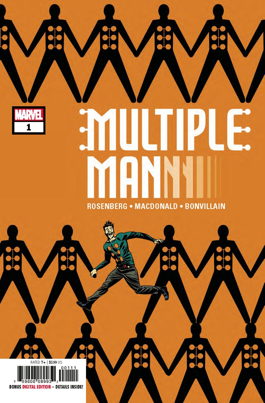 Multiple Man #1 Cover A 1st Ptg Regular Marcos Martin Cover