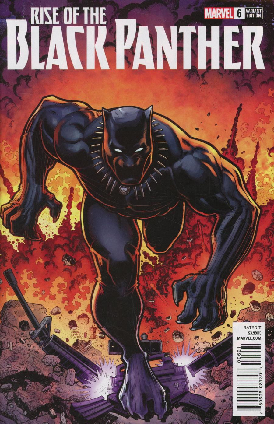 Rise Of The Black Panther #6 Cover B Variant Arthur Adams Cover