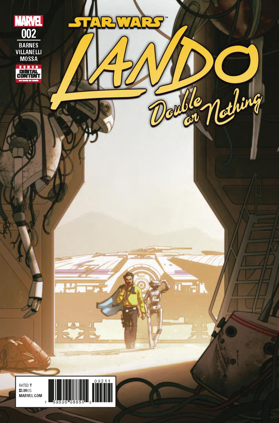 Star Wars Lando Double Or Nothing #2 Cover A Regular W Scott Forbes Cover