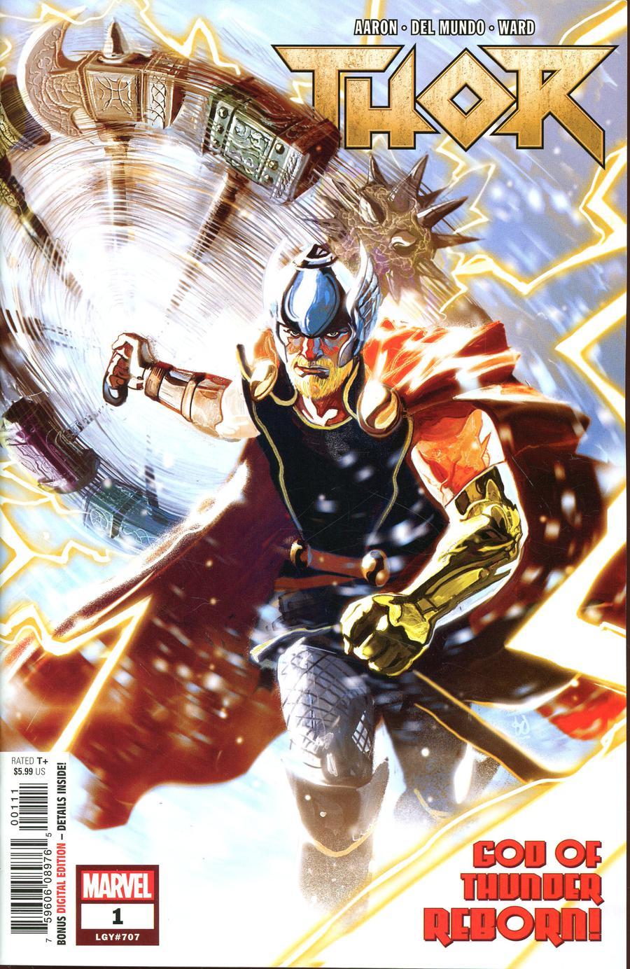Thor Vol 5 #1 Cover A 1st Ptg Regular Mike Del Mundo Cover