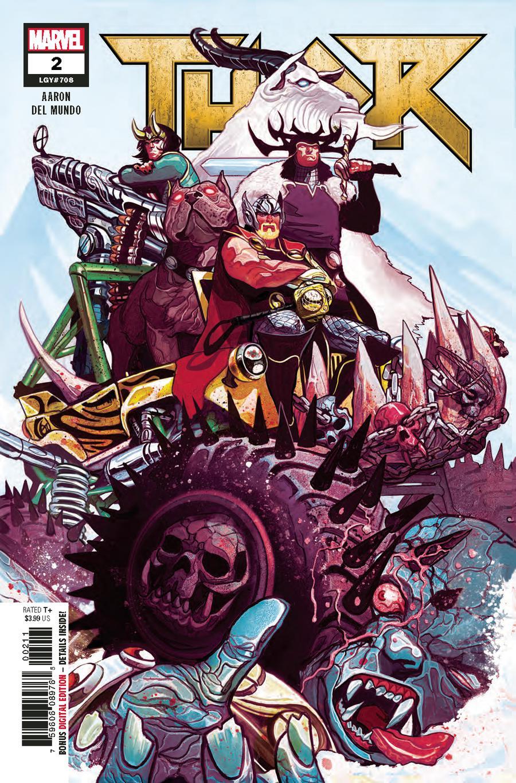 Thor Vol 5 #2 Cover A 1st Ptg Regular Mike Del Mundo Cover