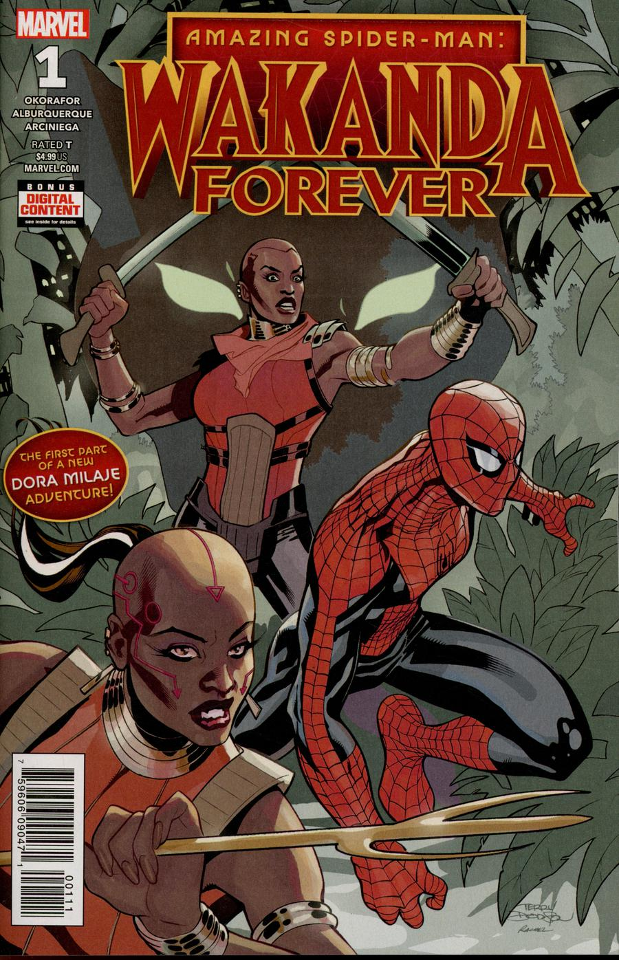 Wakanda Forever Amazing Spider-Man #1 Cover A Regular Terry Dodson Cover (Wakanda Forever Part 1)