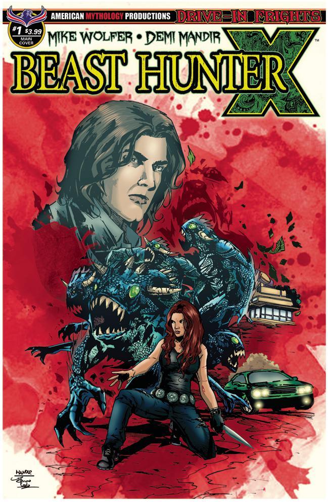 Beast Hunter X #1 Cover A Regular Rich Bonk Cover