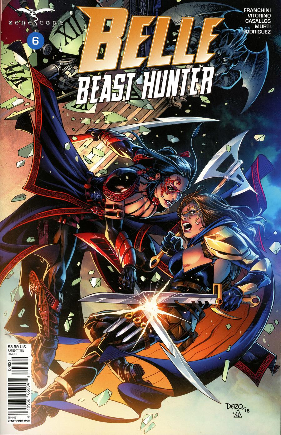 Grimm Fairy Tales Presents Belle Beast Hunter #6 Cover B Bong Dazo