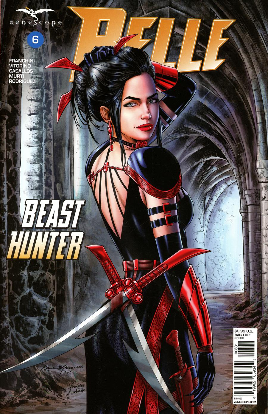 Grimm Fairy Tales Presents Belle Beast Hunter #6 Cover C Kevin McCoy