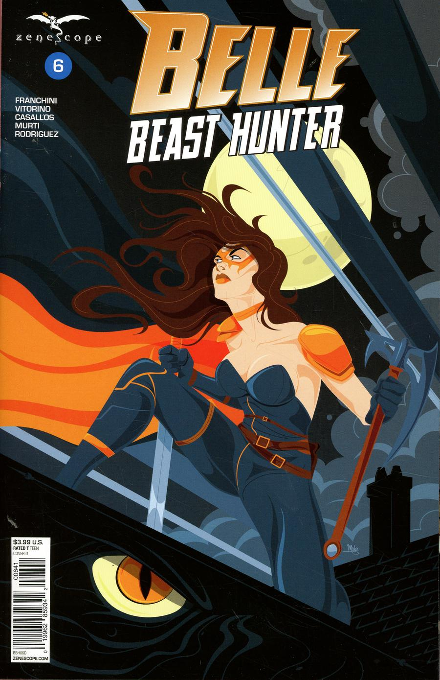 Grimm Fairy Tales Presents Belle Beast Hunter #6 Cover D Mike Mahle