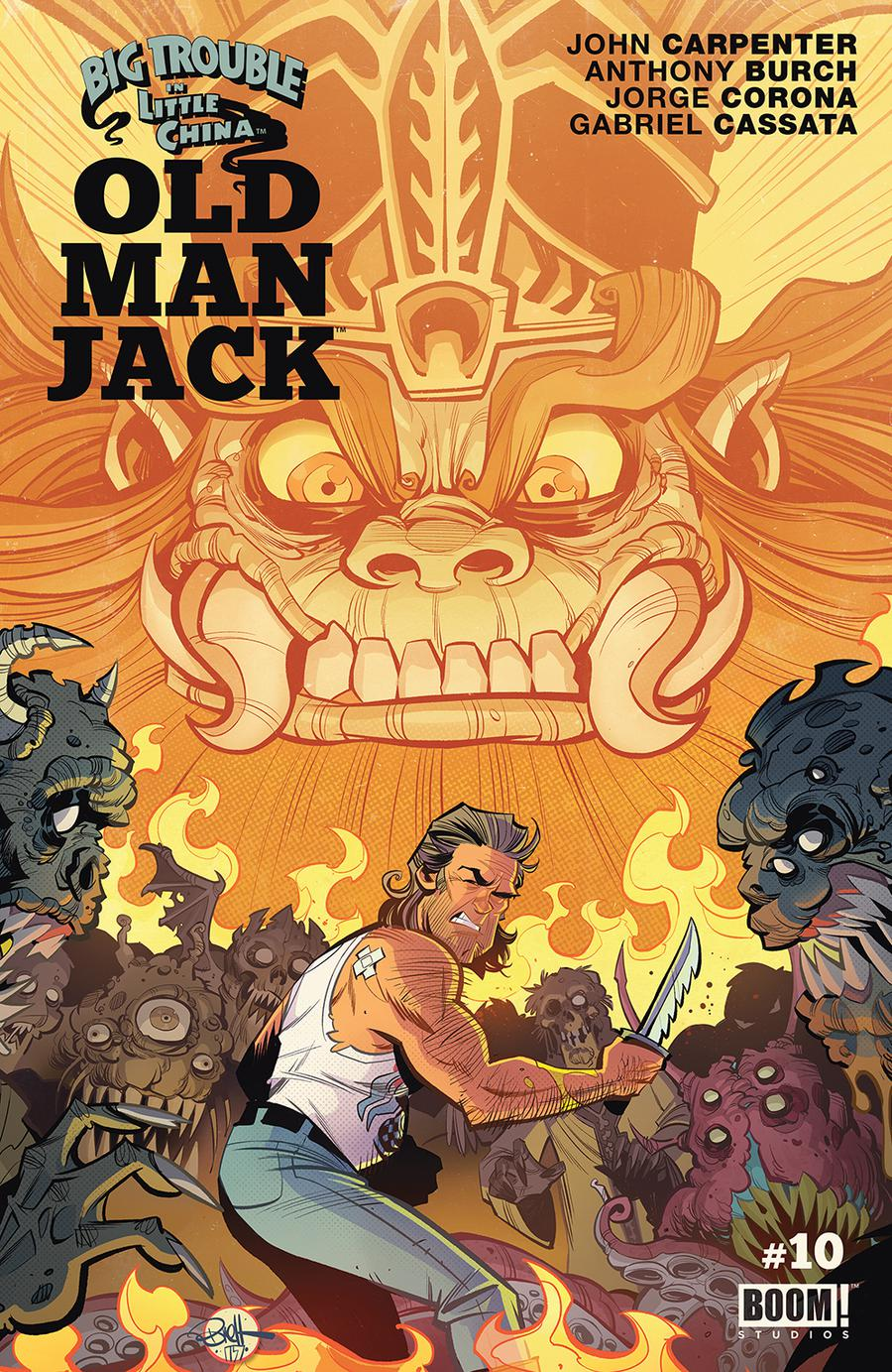 Big Trouble In Little China Old Man Jack #10 Cover A Regular Brett Parson Cover