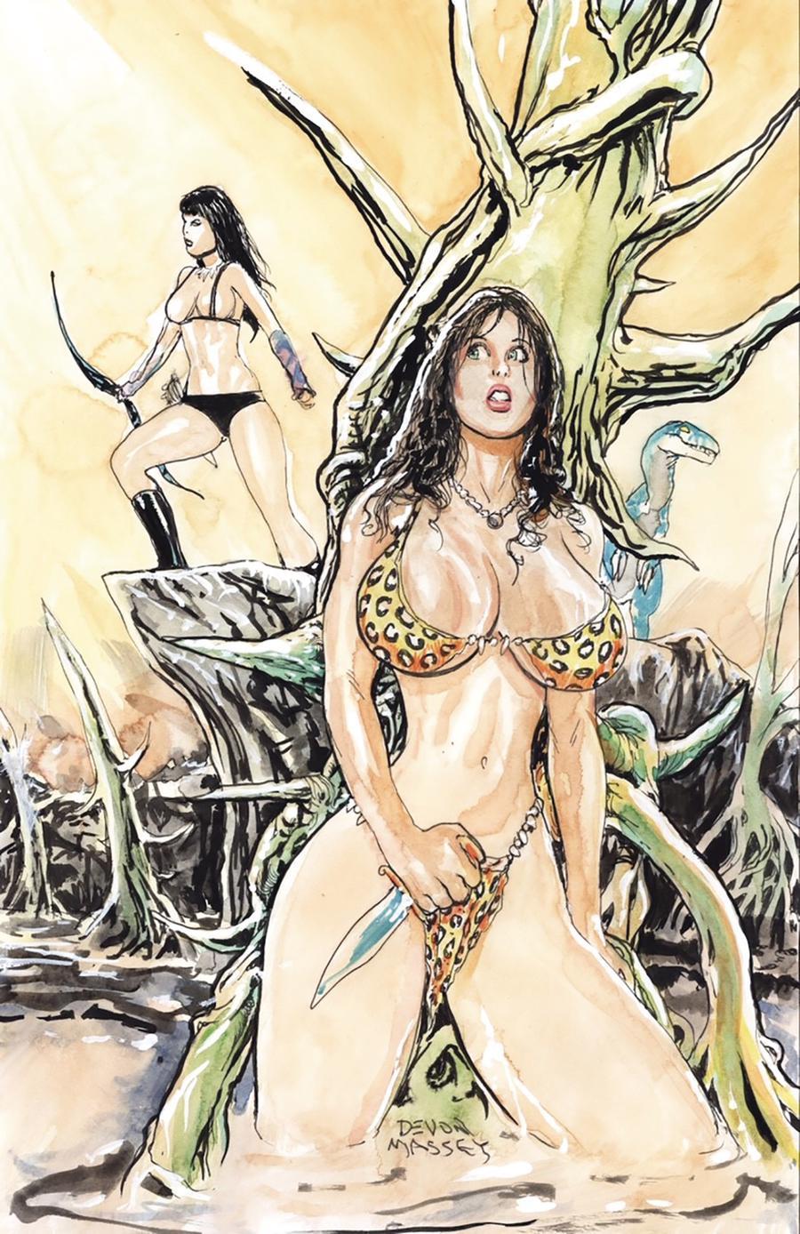 Cavewoman Raptorellas Revenge #2 Cover A Regular Devon Massey Cover