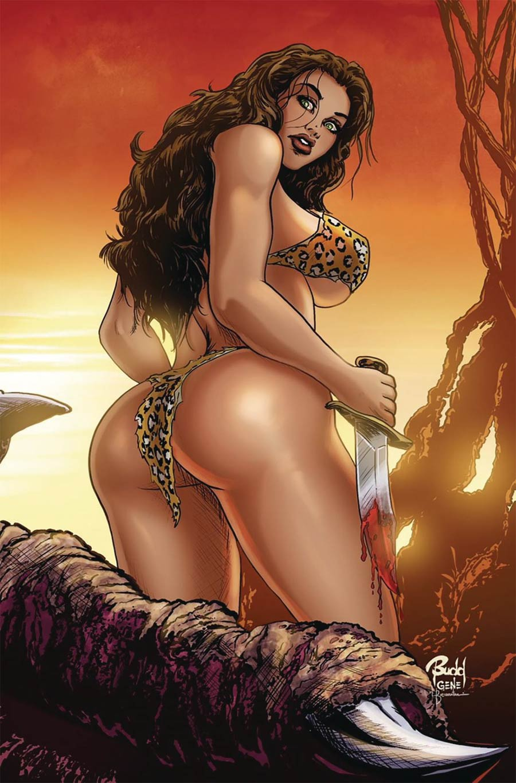 Cavewoman Raptorellas Revenge #2 Cover D Variant Budd Root Cover