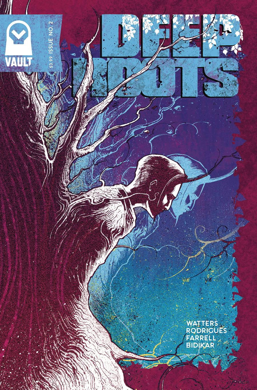 Deep Roots #3 Cover B Variant Val Rodrigues Cover