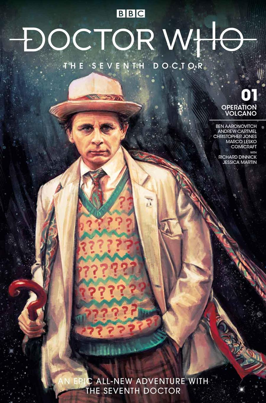 Doctor Who 7th Doctor #1 Cover A Regular Alice X Zhang Cover